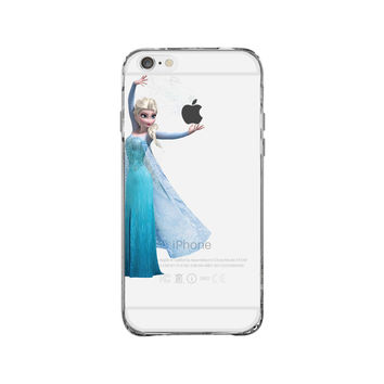 Elsa Frozen Disney iPhone 6 Clear Case