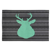 Allyson Johnson Deer And Aztec Woven Rug
