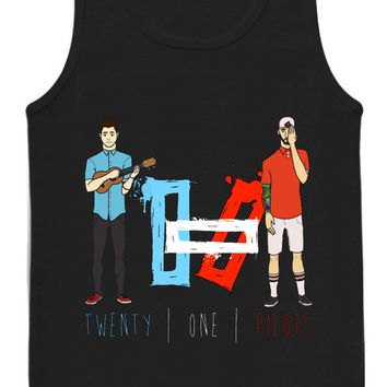 Twenty One Pilots tank top for womens and mens