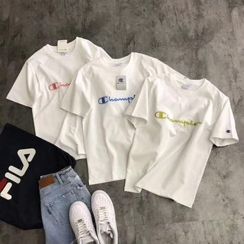 Champion Embroidery Logo T-shirt