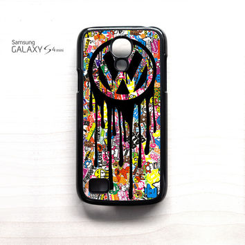 VW Volkswagen Bomb Sticker For Samsung Galaxy Mini S3/S4/S5 Phone case ZG
