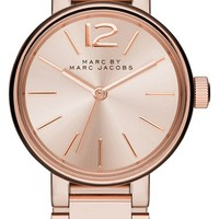 Women's MARC BY MARC JACOBS 'Peggy' Bracelet Watch, 26mm - Rose Gold