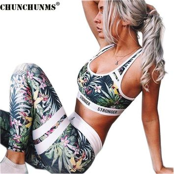 2017 Summer Bohemia Woman Set Sexy Crop Top And Pants Two Piece Ladies Woman Set Flower Pattern Skinny Woman Tracksuits