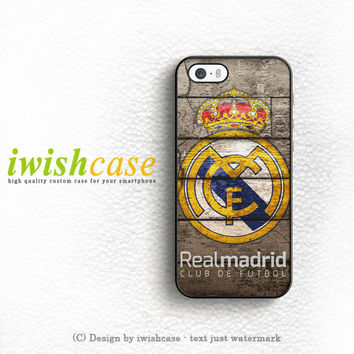 Real Madrid Los Blancos iPhone 5 5S 5C Case Cover