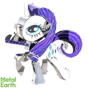 Fascinations Metal Earth 3D Laser Cut Model Kit My Little Pony - Rarity