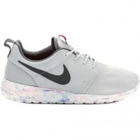 Roshe Run QS Marble Pack Platinum Men's Running Shoe (Platinum/Blue/White)