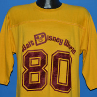 80s Walt Disney World Jersey 1980 t-shirt Large