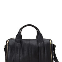 FOREVER 21 Faux Leather Zippered Bag