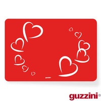 Guzzini Red Love Placemat
