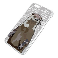 Standing Otter iPhone 6 Plus Slim Fit Case