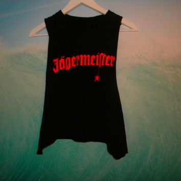 Jagermeister Muscle tee by FemmesCouture on Etsy