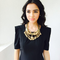 Alaura Necklace- Gold