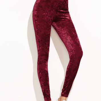 Crushed Velvet Leggings