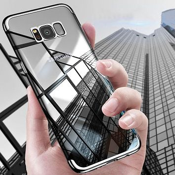 Elegant Ultra Slim Crystal Clear Case for Samsung S8, S8 Plus, S9, S9 Plus