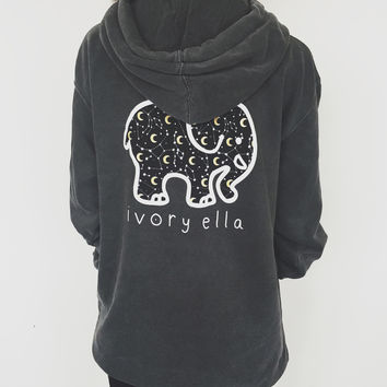 Oversized Pepper Moonlight Hoodie