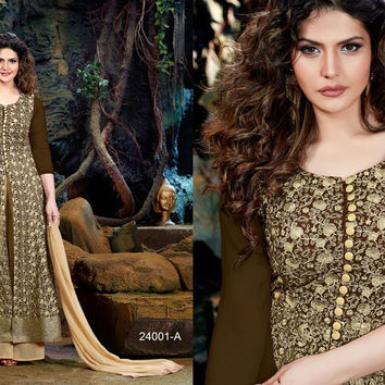 Zarine Khan Georgette Embriodered Suits For ALL
