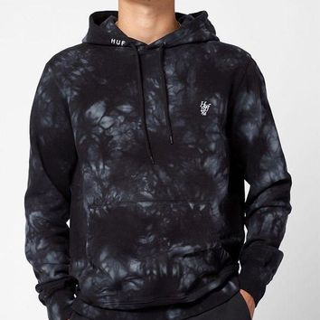 DCCKYB5 HUF Leary Tie-Dye Pullover Hoodie