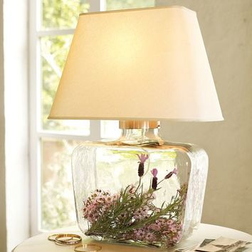 ATRIUM GLASS TABLE LAMP