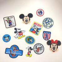 Vintage Disney Iron On Patches