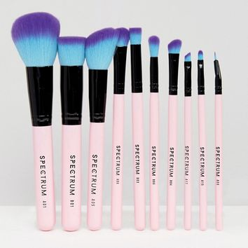 Spectrum 10 Piece Essential Brush Set at asos.com