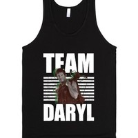 Team Daryl-Unisex Black Tank
