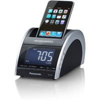 Panasonic iPod/iPhone Compact Clock Radio, AM/FM Radio, Dual Alarm and Clear Vision Sound (Black) (Discontinued by Manufacturer)