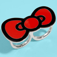 Hello Kitty Bow Ring