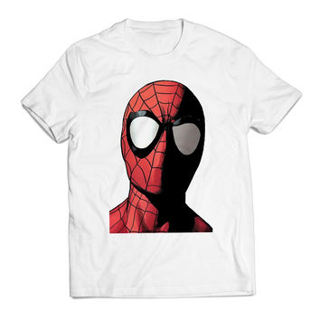 Spiderman Head Marvel Clothing T shirt Men