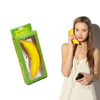Cute Banana Radiation-proof Handset for iPhone