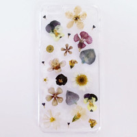 COMO LA FLOR pressed flower phone case *Iphone 4/4S*