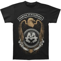 Asking Alexandria Men's  Eagle Slim Fit T-shirt Black
