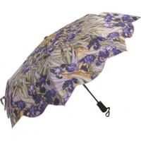 "Galleria Van Gogh ""Irises"" Auto Open/close Super-mini Umbrella"