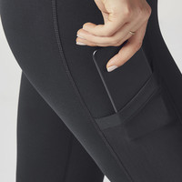 High-Waisted Mesh PowerHold Capri