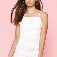 Kendall and Kylie Allover Crochet Romper at PacSun.com