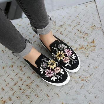 womens-spring-shoes-crystal-casual-flats-brand-designer-flats-loafers-espadrilles-stud number 1