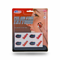 NCAA University of Florida Gators 8 Piece Temporary Tattoos