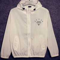 Diamond Supply Co. Windbreakers
