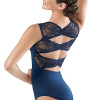 Lace Pinch Back Leotard - Balera