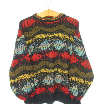 Vintage 1990s Coogi Inspired Biggie Smalls Sweater