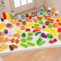 KidKraft Tasty Treats Play Food Set - 63330