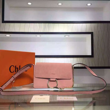 see by chloe purse - chloe faye small studded circle suede leather shoulder bag, chloe ...