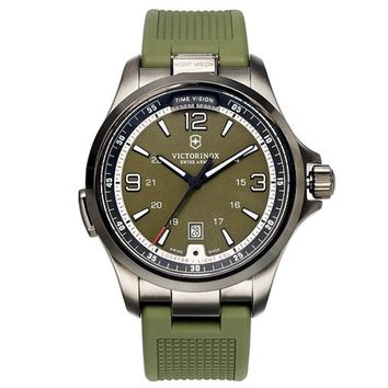 Swiss Army Night Vision Green 42mm 241596