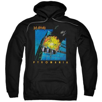 Def Leppard - Pyromania Adult Pull Over Hoodie