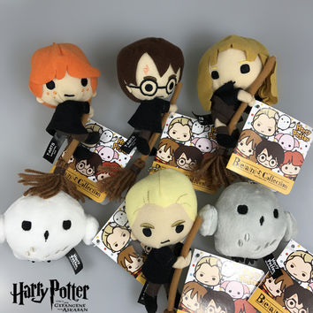 8cm Tiny Kawaii Style Harry Potter Puppet Toys For Children with Chain