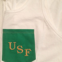 NEW* USF Pocket Tank or Tee