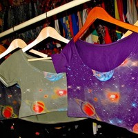 SWEET LORD O'MIGHTY! Galaxy Cropped Bodice