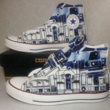 DCKL9 Star Wars R2D2 Custom Converse All Stars