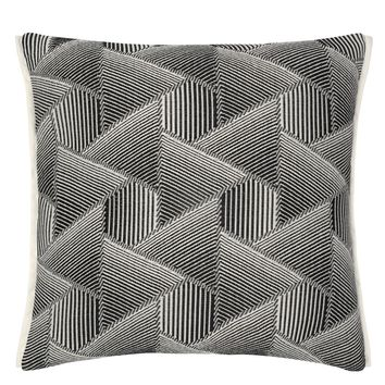 Designers Guild Delray Outdoor Noir Decorative Pillow