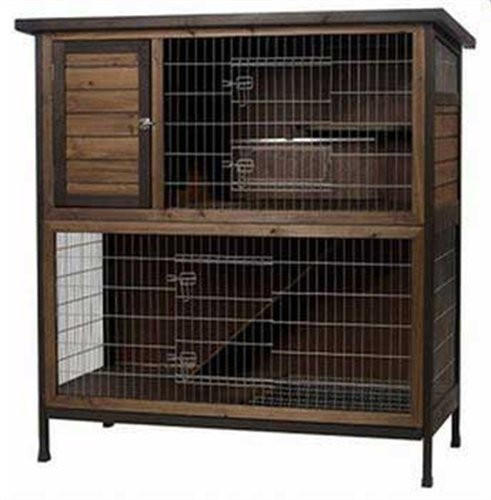 Super pet rabbit hutch 2 story extra from gotpetsupplies for Extra large rabbit cage