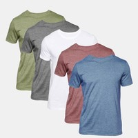 ASOS T-Shirt With Crew Neck 5 Pack Save 20% at asos.com